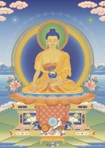 Buddha Shakyamuni 3 - Tharpa Artwork