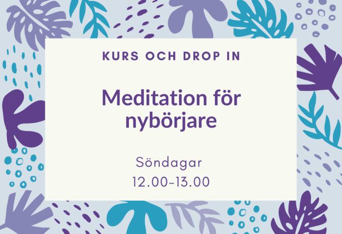 söndag meditation nybörjare