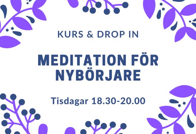 tisdagskurser meditation höst
